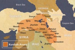 Map of Kurdish Lands