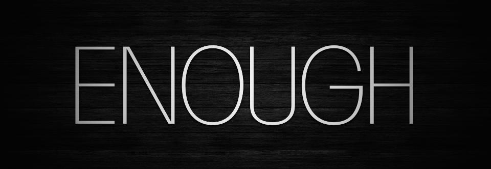 Pray: Is Jesus Enough?